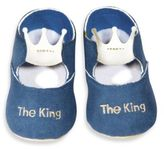 Silly Souls The King Blue Shoes - 0-6 months