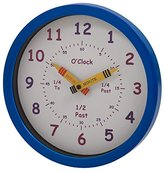 U-NI-TY 25 cm Henley Children's Learn the Time Wall Clock