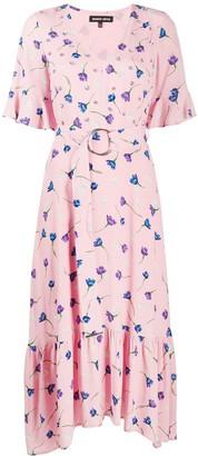 Markus Lupfer Greta floral print dress