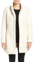 Ivanka Trump Women's Textured Faux Fur Coat