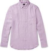 J.crew - Button-down Collar Linen Shirt