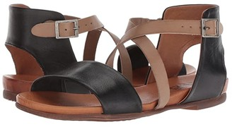 Miz Mooz Amanda (Black) Women's Sandals