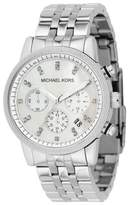 Michael Kors MK5020 Chronograph Stainless Steel Crystal Accent Watch