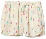 Gap Print dolphin shorts