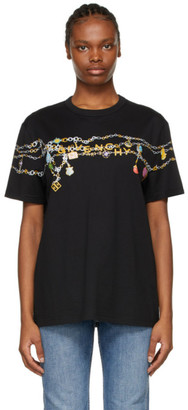 Givenchy Black Charms Masculine T-Shirt
