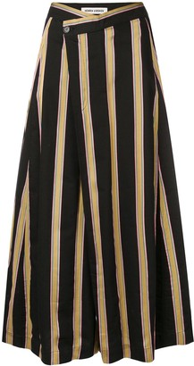 Henrik Vibskov Pound striped culottes