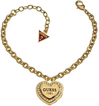 GUESS Women Gold Statement Bracelet of Length 20cm UBB10406