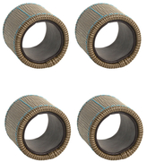 Jonathan Adler Montmarte Napkin Rings (Set of 4)