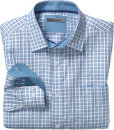 Johnston & Murphy Watercolor Check Shirt