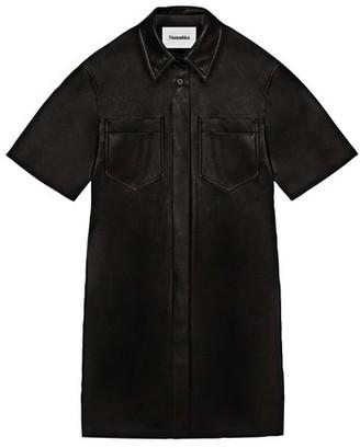 Nanushka Berto dress in vegan leather