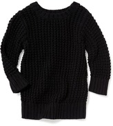 Old Navy Open-Knit Cocoon Sweater for Toddler Girls