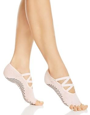 Toesox Elle Half Toe Grip Yoga Socks