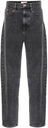 Etoile Isabel Marant Corsyj high-rise straight jeans