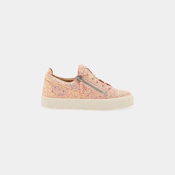 Giuseppe Zanotti Glitter Zip Sneakers