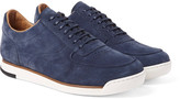 John Lobb Porth Suede Sneakers - Storm blue