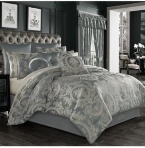 J Queen New York Nicolette 4 Piece Comforter Set, California King Bedding