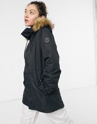 Volcom Fawn Insulated ski jacket in black