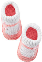Carter's Mary Jane Crocheted Booties