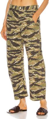 Nili Lotan Emerson Pant in Tiger Print Camouflage | FWRD
