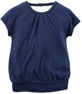 Carter's Baby Girl Braided Blouson Top