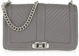 Rebecca Minkoff Shadow Embossed Leather Love Crossbody Bag