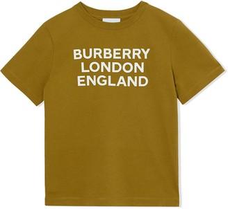 BURBERRY KIDS logo print T-shirt