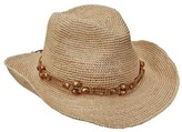 Scala Women's LR695OS Fine Pinch Cowboy Hat with Bead