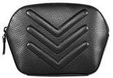 Mackage Saba Pebble Leather Cosmetic Case In Black