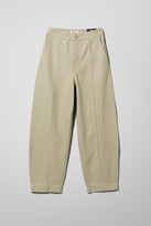 Thumbnail for your product : Weekday Route Recycled Jeans - Beige