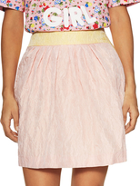 Love Moschino Pleated Mini Skirt