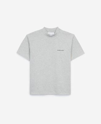 The Kooples Grey cotton T-shirt
