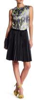 Komarov Sleeveless Pleated Dress