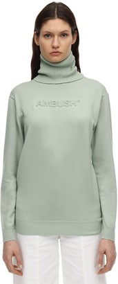 Ambush Wool Blend Knit Sweater