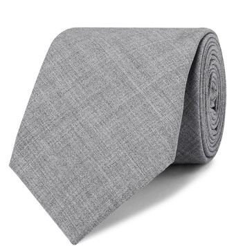 Brunello Cucinelli 7cm Melange Virgin Wool Tie