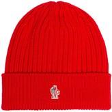 Moncler Logo Knit Beanie Hat