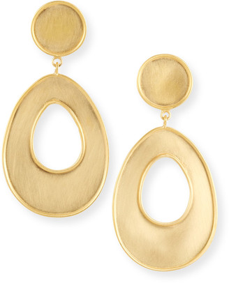 Dina Mackney Bold Open Drop Earrings