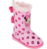 Disney Collection Minnie Mouse Boots - Girls