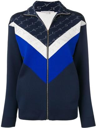 Stella McCartney monogram track jacket