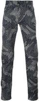Kenzo printed slim-fit jeans