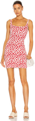 NAGNATA Twin Flame Active Dress in Red & Cream   FWRD