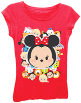Freeze Disney Tsum Tsum Red Group Tee - Girls