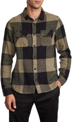 RVCA Haywire Button-Up Flannel Shirt