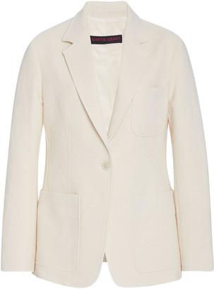 Martin Grant Tailored Single-Breasted Cotton Blazer