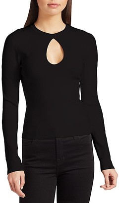Ramy Brook Megan Keyhole Sweater