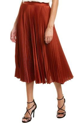 A.L.C. Pleated A-Line Skirt