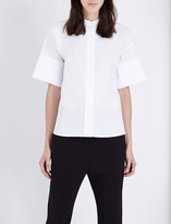 Jil Sander Celeste cotton shirt