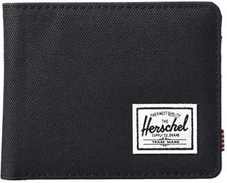 Herschel Roy RFID (Black) Wallet Handbags