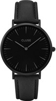 Cluse CL18501 La Bohà ̈me Full Black leather watch