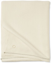 Thumbnail for your product : Oyuna Sabra 100% Cashmere Throw - 200x145cm - Ivory
