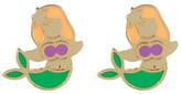Ariella Collection Mermaid Earrings